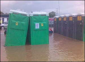 Glastonbury toilets