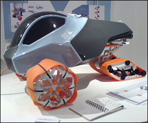 Antarctic vehicle - James Moon (Vehicle Design)