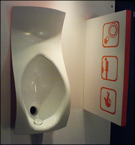 Pistake Urinal - Malcolm Kimberley (Industrial Design Engineering)