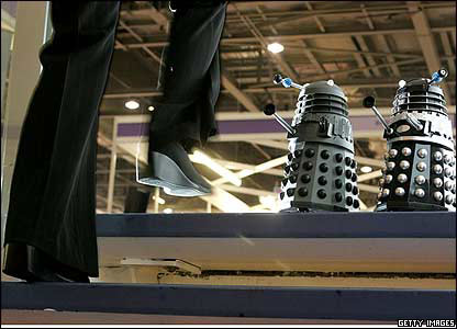 Daleks at the 2006 Toy Fair