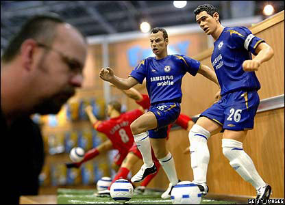 Models of Chelsea football players