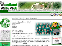 Woodland Grange Primary School's website