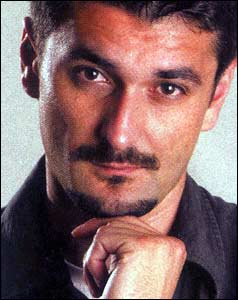 Emir Suljagic, picture courtesy of the Bosnian Institute