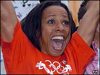 British double Olympic champion Kelly Holmes