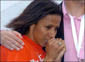 Kelly Holmes waits for news London's Olympic bid