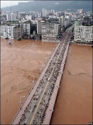 Затопленный город на юго запада китая