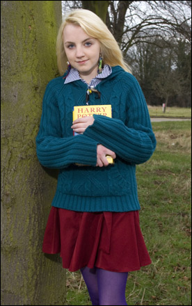 Evanna Lynch has been chosen to play Luna Lovegood in the new Harry Potter film.
