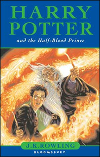 The children's UK cover of Harry Potter and the Half-Blood Prince