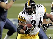 Pittsburgh Steelers running back Jerome Bettis