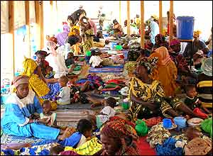 Treatment centre, Niger
