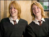 The Weasley twins