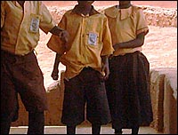 School uniforms in Ghana