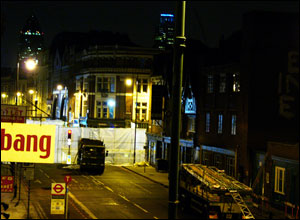 Kingsland Rd/Old St junction, 1am