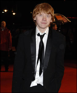 ... Perhaps Rupert Grint could have taken a few style tips from him. He was there to present an award...