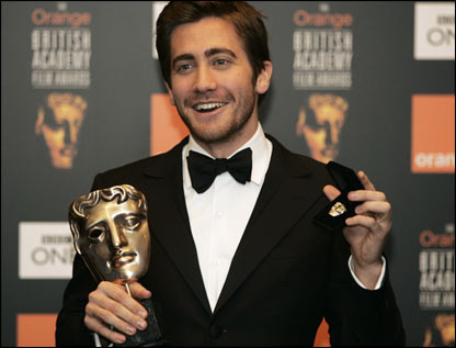 And Jake Gyllenhaal looked chuffed with best supporting actor
