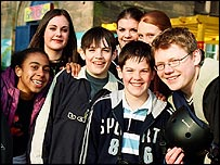 Some of the Byker Grove cast