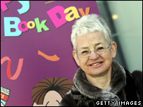 Children¿s author Jacqueline Wilson launches World Book Day