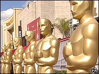 Oscars preparation in Los Angeles