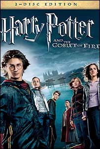 The Harry Potter and the Goblet of Fire DVD