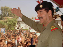 Saddam Hussein during his presidency