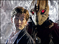 Doctor Who with a monster