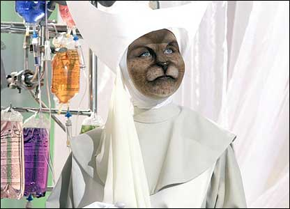 A nurse from the new series of Doctor Who