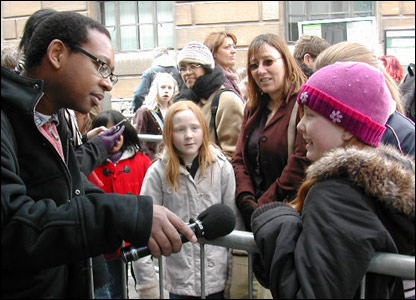 Newsround's Lizo interviews one of the hopefuls