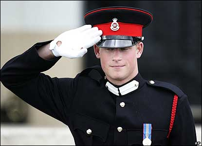 Prince Harry has graduated from Sandhurst as an Army officer. The 21-year-old is to join the Household Cavalry's Blues and Royals.