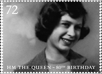 The Queen aged 14