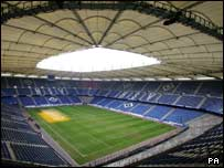Hamburg stadium