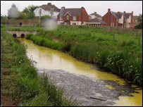 The River Parrett in Somerset