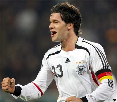 Michael Ballack from Germany