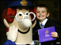Postman Pat and friend