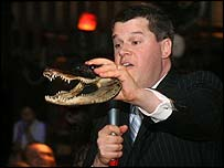 Daniel Handler. Not Lemony Snicket