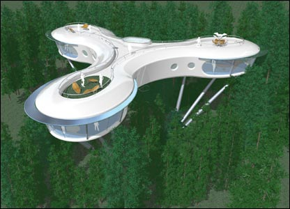 Future Tree Houses cbbc newsround | pictures | in pictures: amazing tree houses