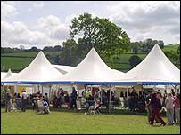 The Hay Fever festival is in Hay-on-Wye in Wales