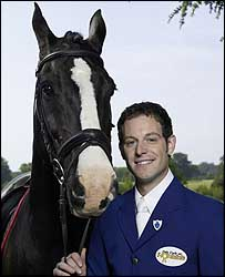 Matt Baker and horse