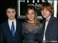 Dan, Emma and Rupert