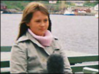 Emilie filming in Norway
