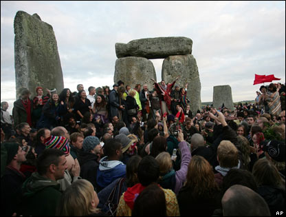 The stones at Stonehenge have been there for thousands of years. No-one knows exactly what they are for...