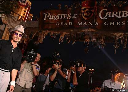 CBBC Newsround   Pictures   In pictures: Pirates of the Caribbean 2