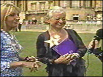 JK Rowling and Jacqueline Wilson