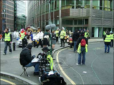 CBBC recreated some scenes from the 7 July bombings for its drama programme, That Summer Day