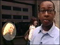 Lizo just missed bumping into Evanna at the Luna auditions!