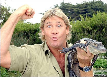 Wildlife expert Steve Irwin died aged 44 after being attacked by a stingray fish off  the Australian coast