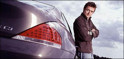 Richard Hammond with a car