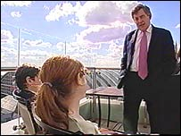 Chris and Becky chat to Gordon Brown