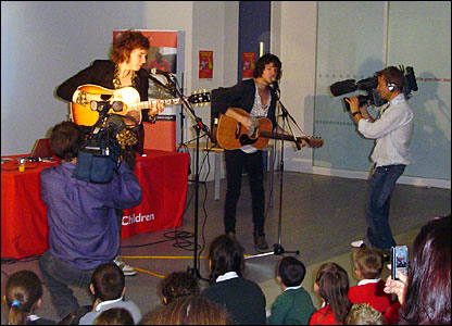 The Kooks perform