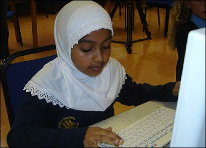 "Lots of kids took part in a big blog event - a mass online diary aimed at giving future generations an idea about their lives. Ruqaiyah, nine, said it was ""really important"""