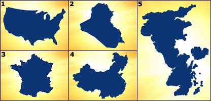 Cbbc newsround quiz quiz name countries by their outline map outlines gumiabroncs Image collections